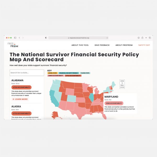 NEW RESOURCE: Learn how your state scores for survivor financial security